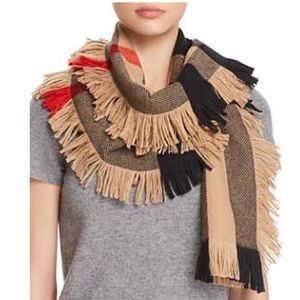 Burberry Half Mega Fringe Scarf - SOLD OUT